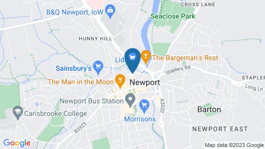 One Holyrood Hotel Map
