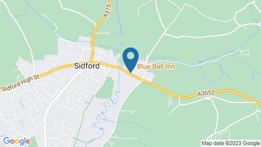Blue Ball Inn Map