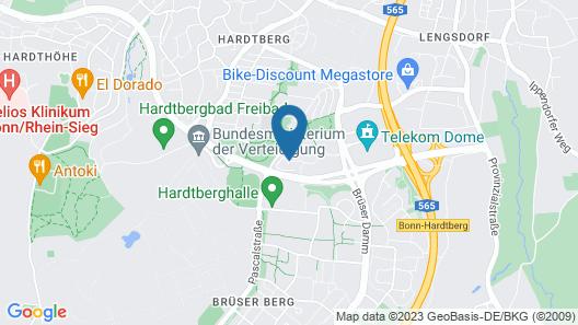 Mercure Hotel Bonn Hardtberg Map