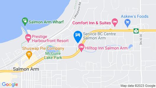 Fairfield Inn & Suites by Marriott Salmon Arm Map