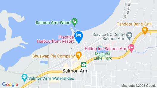 Prestige Harbourfront Resort, BW Premier Collection Map