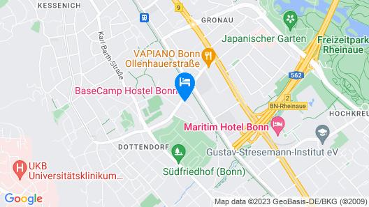 BaseCamp Bonn Map