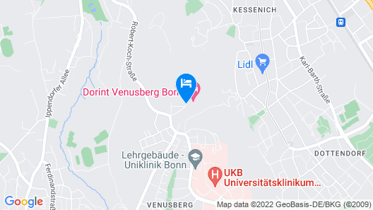 Dorint Venusberg Bonn Map