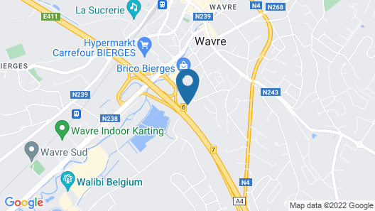 ibis Wavre Brussels East Map