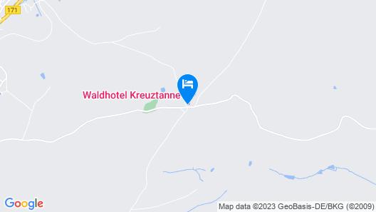 Waldhotel Kreuztanne Map