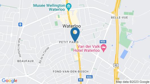 ibis Brussels Waterloo Map