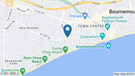 The Durley Dean Hotel Map