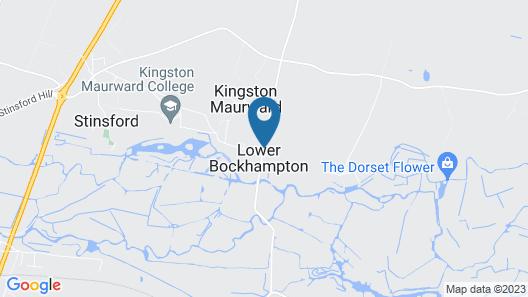 Yalbury Cottage Map