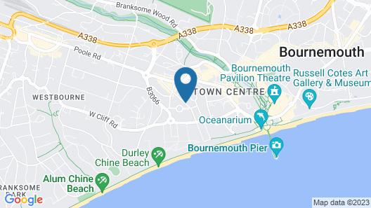 Glendevon Hotel Map