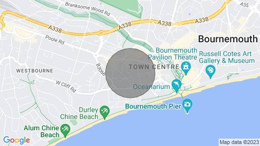 Beach House - Sleeps 18 Map