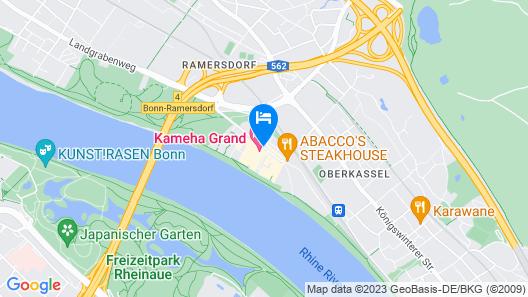 Kameha Grand Bonn Map