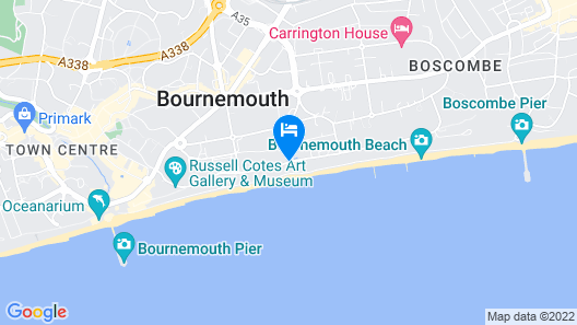 The Cumberland Hotel - OCEANA COLLECTION Map