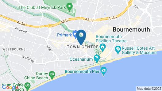 Hilton Bournemouth Map