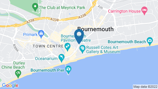 Russell Court Hotel Map