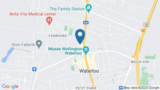 Le Côté Vert Map