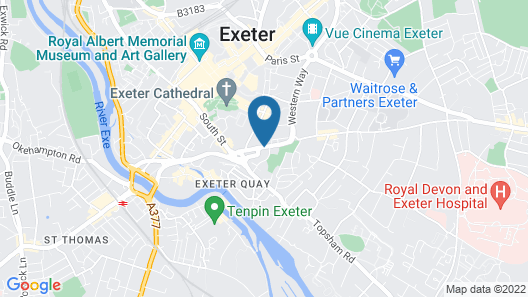 Hotel Du Vin Exeter Map
