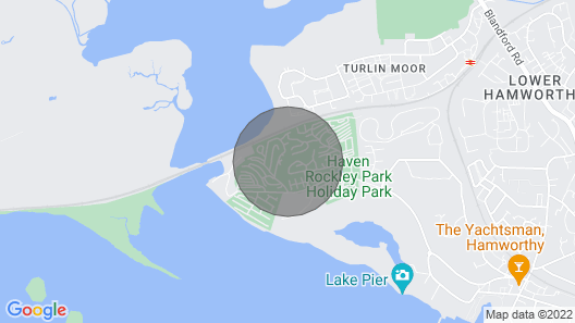 Modern Dog Friendly Caravan on Award Winning Rockley Park Map