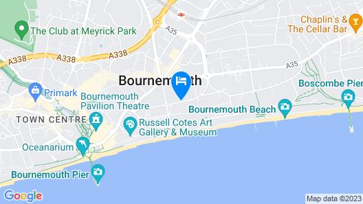 ibis Styles Bournemouth Map