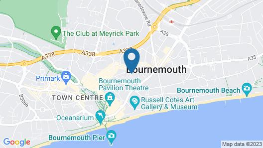 Exchequer Grange Map