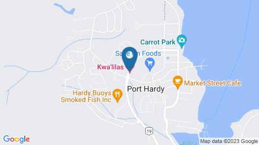 Kwa'Lilas Hotel Map