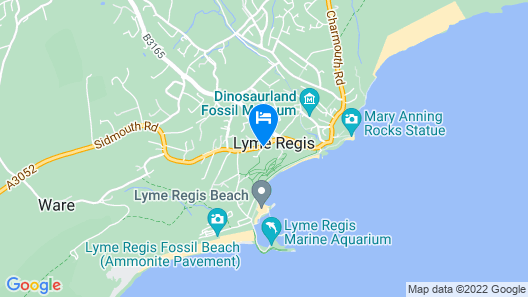 Lyme Townhouse Map