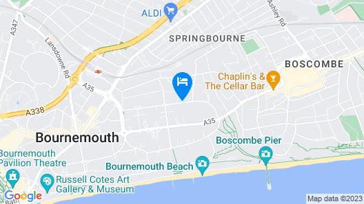 Carrington House Hotel Map