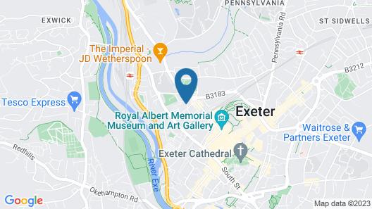 Queens Court Hotel Map