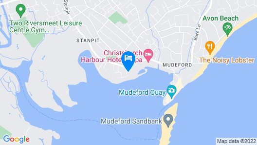 Contemporary Holiday Cottage With Harbour Views And Access Map