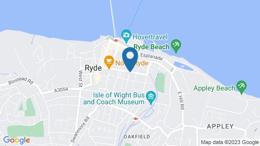 Dorset Hotel Map