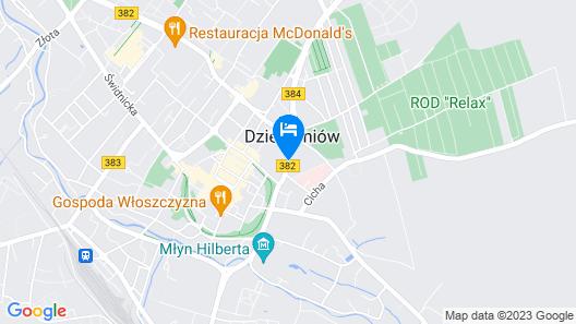 Hotel Delta In Map
