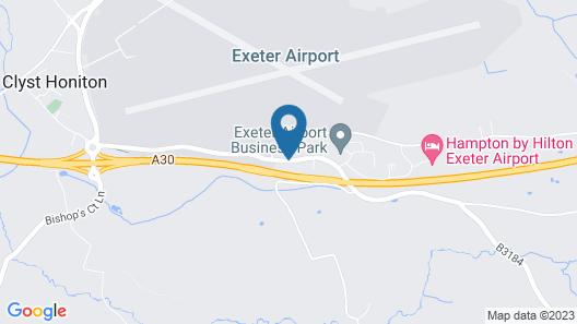 Fair Oak House Exeter Airport Map