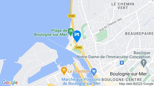 Hôtel Restaurant La Matelote Map