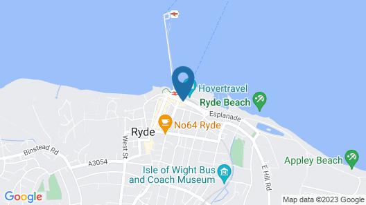 Royal Esplanade Hotel Map