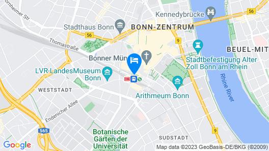 Motel One Bonn-Hauptbahnhof Map