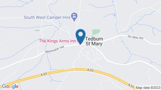 Kings Arms Inn Map