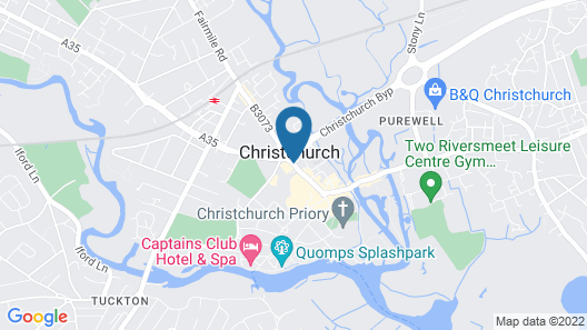 Travelodge Christchurch Map