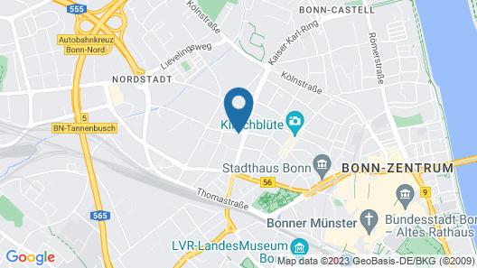 ibis Bonn Map