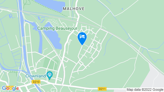 7 Bedroom Accommodation in Arques Map