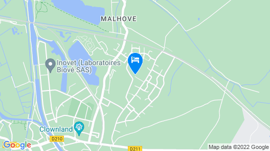 5 Bedroom Accommodation in Arques Map