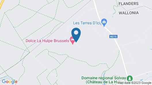 Dolce by Wyndham La Hulpe Brussels Map