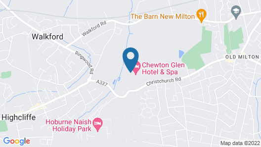 Chewton Glen Hotel & Spa Map