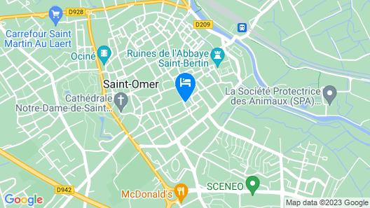 La Manutention de Saint-Omer Map