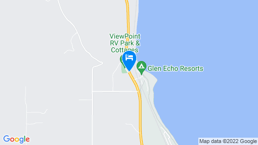 ViewPoint RV Park & Cottages Map