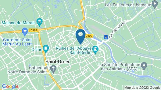 Apart'Moment Saint-Omer Centre Map