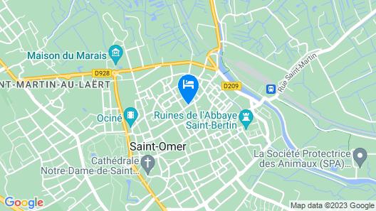 Nice apartment Map