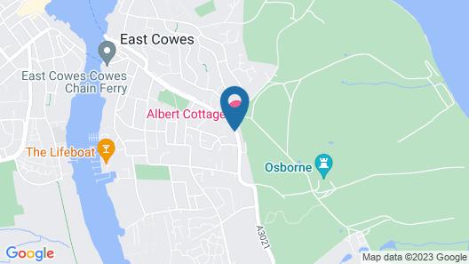 Albert Cottage Hotel Map