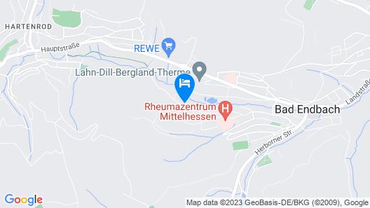 NaturMed Bad Endbach Map