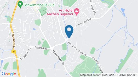 Art Hotel Aachen Map