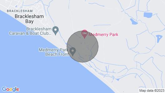 41B Medmerry Park 2 Bedroom Chalet Map