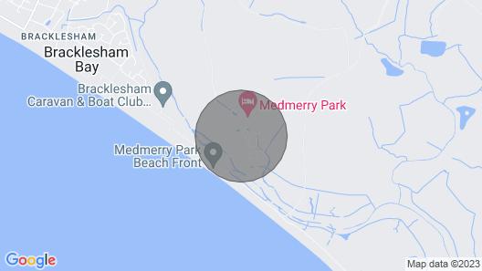 42A Medmerry Park 2 Bedroom Chalet Map